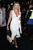 Olivia Buckland<br /> arriving for James Ingham's Jog on to Cancer 2018 at Cafe de Paris, London<br /> <br /> ©Ash Knotek  D3391  04/04/2018