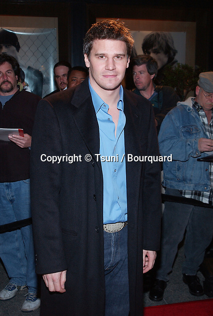 David Boreanaz (Angel)  arriving at the television critics association closing party with the Warner Bros show at El Fornaio Restaurant in Pasadena, Los Angeles. January 15, 2002.           -            BoreanazDavid_Angel01.jpg