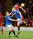 08.05.2018 Aberdeen v Rangers: Sean Goss, Ross McCrorie and Ryan Christie
