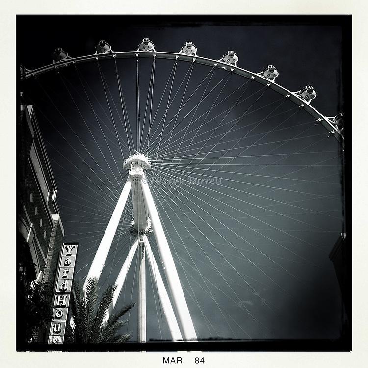 High Roller Wheel in Las Vegas Nevada March 26, 2014.
