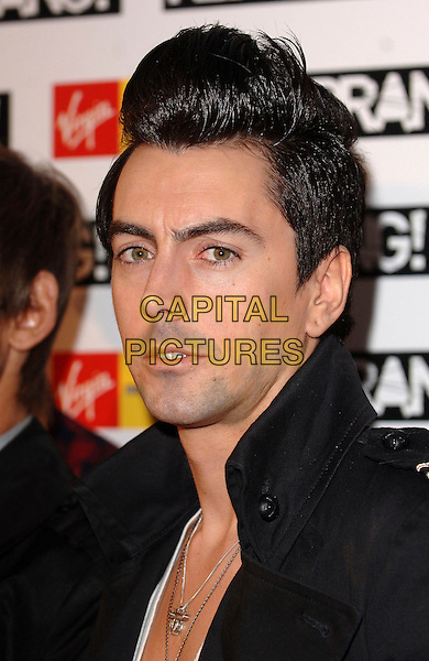 IAN WATKINS FORM THE LOST PROPHETS.attending the 2007 Kerrang Awards , The Brewery, East London, England, 23rd August 2007.portrait headshot quiff hair.CAP/ BEL.©Tom Belcher/Capital Pictures.
