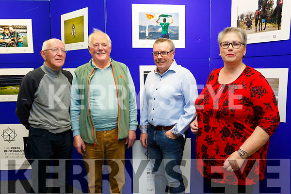 Press Photographers Association of Ireland [PPAI] Photojournalism Exhibition was opened by Mayor of Tralee Cllr Norma Foley at Tralee Library on Monday and will run till Wednesday 18th October. Pictured Paul Gainny, Edmond Prendiville, Francis Foley and Edel Codd