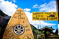 Teahupoo, Tahiti Iti, French Polynesia. Saturday August 13 2011. Photo: joliphotos.com