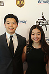 Alex and Maia Shibutani (recently represented Team USA in the 2018 Olympics) and brother and sister at Figure Skating in Harlem's Champions in Life (in its 21st year) Benefit Gala recognizing the medal-winning 2018 US Olympic Figure Skating Team on May 1, 2018 at Pier Sixty at Chelsea Piers, New York City, New York. (Photo by Sue Coflin/Max Photo)