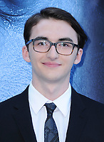 "12 July 2017 - Los Angeles, California - Isaac Hempstead Wright. HBO's ""Game of Thrones"" Season 7 Los Angeles Premiere held at The Music Center's Walt Disney Concert Hall in Los Angeles. Photo Credit: Birdie Thompson/AdMedia"