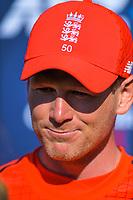 England captain Eoin Morgan. Twenty20 International cricket match between NZ Black Caps and England at Westpac Stadium in Wellington, New Zealand on Sunday, 3 November 2019. Photo: Dave Lintott / lintottphoto.co.nz