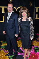 LOS ANGELES, CA. September 17, 2018: Joan Collins &amp; Percy Gibson at The HBO Emmy Party at the Pacific Design Centre.<br /> Picture: Paul Smith/Featureflash