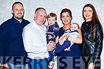 Little Caolan Myers, Barleymount, Killarney celebrated his christening with his parents Karen and Kevin, big brother Eanna and godparents Ciara Murphy and Colin Myers in the Dromhall Hotel on Saturday night