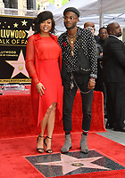 LOS ANGELES, CA. January 28, 2019: Taraji P. Henson & Marcell Johnson at the Hollywood Walk of Fame Star Ceremony honoring Taraji P. Henson.<br /> Pictures: Paul Smith/Featureflash