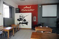 - Milano, circolo Arci Corvetto, sala dedicata ad Ivan Della Mea....- Milan, social club Arci Corvetto, room dedicated to Ivan Della Mea