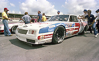 Ricky Rudd 3 Chevrolet on pit road grid Firecracker 400 at Daytona International Speedway in Daytona Beach, FL on July 4, 1983. (Photo by Brian Cleary/www.bcpix.com)