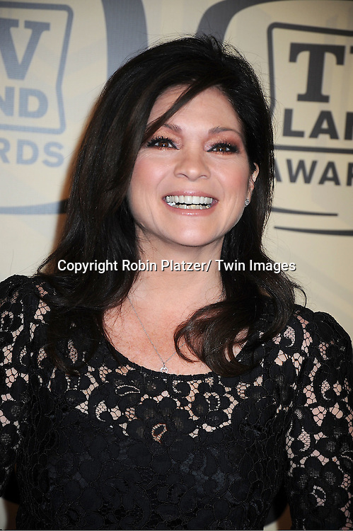 Valerie Bertinelli arrives at The 10th Annual TV Land Awards on April 14, 2012 at the Lexington Avenue Armory  in New York City.