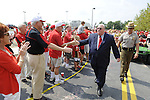 COLLEGE PARK, MD - AUGUST 30:  The Maryland Terrapins play the Delaware Blue Hens October at Byrd Stadium in College Park, Maryland.