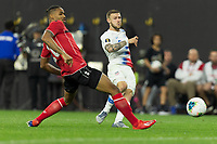CLEVELAND, OHIO - JUNE 22: Paul Arriola during a 2019 CONCACAF Gold Cup group D match between the United States and Trinidad & Tobago at FirstEnergy Stadium on June 22, 2019 in Cleveland, Ohio.