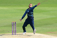 Ivan Thomas in bowling action for Kent during Kent Spitfires vs Essex Eagles, Royal London One-Day Cup Cricket at the St Lawrence Ground on 17th May 2017