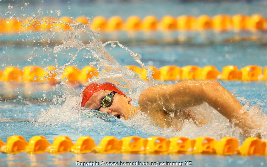 Bronson Lloyd. Swimming New Zealand Aon National Age Group Championships, Wellington Regional Aquatic Centre, Wellington, New Zealand, Tuesday 15 2019. Photo: Simon Watts/www.bwmedia.co.nz