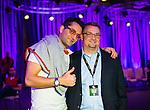 Contest Winner with Antonio Esfandiari