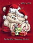 Roger, CHRISTMAS ANIMALS, WEIHNACHTEN TIERE, NAVIDAD ANIMALES, valentine, Valentin, paintings+++++,GBRM2263,#xa#