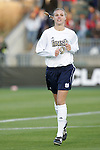 05 December 2008: Notre Dame's Carrie Dew. The Notre Dame Fighting Irish defeated the Stanford Cardinal 1-0 at WakeMed Soccer Park in Cary, NC in an NCAA Division I Women's College Cup semifinal game.