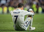 Cristiano Ronaldo of Real Madrid reacts during their La Liga 2016-17 match between Real Madrid and Malaga CF at the Estadio Santiago Bernabéu on 21 January 2017 in Madrid, Spain. Photo by Diego Gonzalez Souto / Power Sport Images