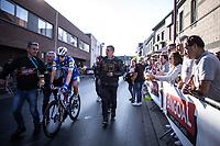 23-year old Jannik Steimle (GER/Deceuninck Quick Step) wins the 104th Kampioenschap van Vlaanderen 2019<br /> <br /> One Day Race: Koolskamp > Koolskamp 186km (UCI 1.1)<br /> ©kramon