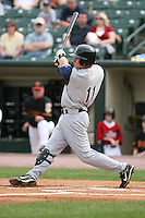 May 26th, 2008:  Second baseman Chris Getz (11) of the Charlotte Knights, Class-AAA affiliate of the Chicago White Sox, during a game at Frontier Field in Rochester, NY.  Photo by:  Mike Janes/Four Seam Images
