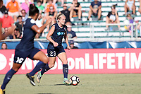 Cary, North Carolina  - Saturday August 19, 2017: Kristen Hamilton during a regular season National Women's Soccer League (NWSL) match between the North Carolina Courage and the Washington Spirit at Sahlen's Stadium at WakeMed Soccer Park. North Carolina won the game 2-0.