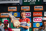 Luxembourg National Champion Bob Jungels (LUX) Quick-Step Floors wins the 2018 Liège - Bastogne - Liège (UCI WorldTour), Belgium, 22 April 2018, Photo by Thomas van Bracht / PelotonPhotos.com