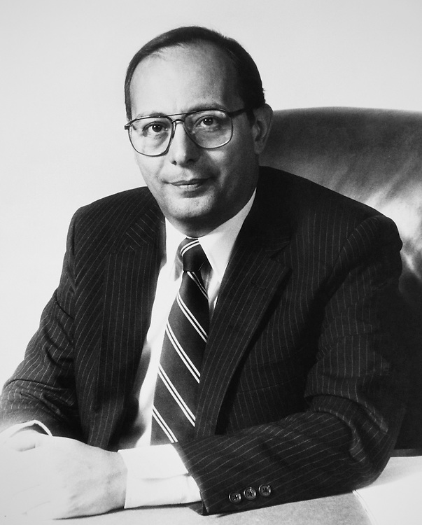 "Portrait of Sen. Alfonse Marcello ""Al"" D'Amato, D-N.Y., Senate Committee on Banking, Housing, and Urban Affairs Chairman. August 11, 1983 (Photo by by/CQ Roll Call)"