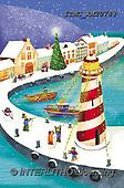 Marcello, CHRISTMAS SYMBOLS, WEIHNACHTEN SYMBOLE, NAVIDAD SÍMBOLOS, paintings+++++,ITMCXM2078@,#XX# ,lighthouse