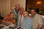 "Lee Meriwither - AMC and daughter Lesley, Johnny Whitaker ""Scotty Baldwin"" GH and Family Affair & Celeste Holm - Loving & husband Frank at 4th Annual Mid-Atlantic Nostalgia Convention in Aberdeen, Maryland. (Photo by Sue Coflin/Max Photos)"
