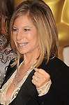 HOLLYWOOD, CA. - March 07: Actress/Director/presenter Barbra Streisand poses in the press room at the 82nd Annual Academy Awards held at the Kodak Theatre on March 7, 2010 in Hollywood, California.