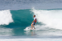 JOEL PARKINSON (AUS)  scord the perct score of 20 out of 20 point in his heat today, Wednesday, December 10 2008.  The Billabong Pipeline Masters is the last event on the 2008  ASP World Championship Tour with US$320.000 total prize purse. The event has a waiting period from December 8-20 2008. Pipeline on the North Shore of Oahu, Hawaii is the location for this prestigious event. Photo: joliphotos.com