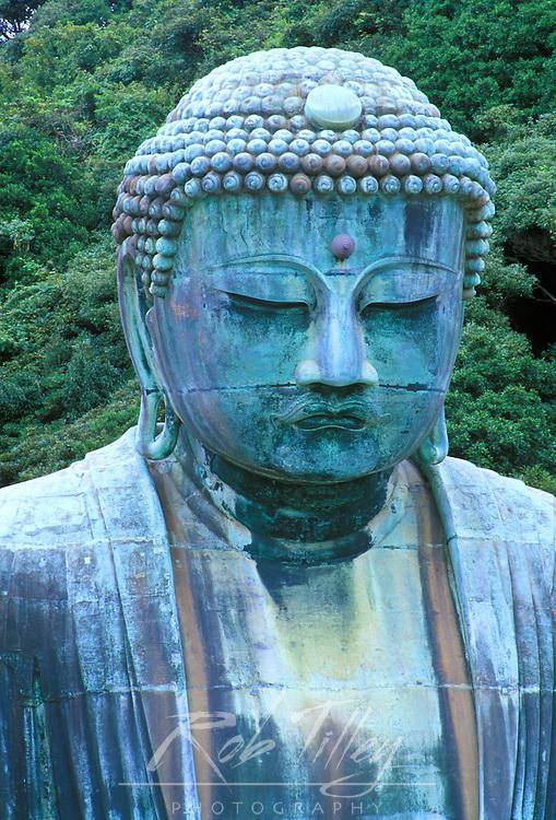 Great Buddha Detail, Kotokuji Temple, Kamakura, Japan