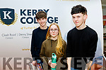 Looking at careers at the Apprenticeship Open Evening at the KETB, Monavalley, Tralee last Wednesday March 4, were L-R Sean Delaney, Causeway with Eve&Jack Mulvihill ,Tarbert.