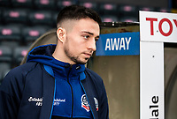 Bolton Wanderers' Liam Edwards pictured before the match  <br /> <br /> Photographer Andrew Kearns/CameraSport<br /> <br /> The EFL Sky Bet League One - Rochdale v Bolton Wanderers - Saturday 11th January 2020 - Spotland Stadium - Rochdale<br /> <br /> World Copyright © 2020 CameraSport. All rights reserved. 43 Linden Ave. Countesthorpe. Leicester. England. LE8 5PG - Tel: +44 (0) 116 277 4147 - admin@camerasport.com - www.camerasport.com