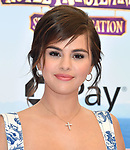 WESTWOOD, CA - JUNE 30: Selena Gomez attends the Columbia Pictures and Sony Pictures Animation's world premiere of 'Hotel Transylvania 3: Summer Vacation' at Regency Village Theatre on June 30, 2018 in Westwood, California.