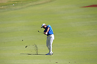 Yusaku Miyazato (JPN) in action on the 1st during Round 2 Matchplay of the ISPS Handa World Super 6 Perth at Lake Karrinyup Country Club on the Sunday 11th February 2018.<br /> Picture:  Thos Caffrey / www.golffile.ie<br /> <br /> All photo usage must carry mandatory copyright credit (&copy; Golffile   Thos Caffrey)