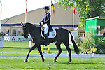Jennifer Wooten and The Good Witch competing at the Mitsubishi Motors Badminton Horse Trials 2011