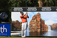 Rattanon Wannasrichan (THA) in action on the 12th during Round 2 of the ISPS Handa World Super 6 Perth at Lake Karrinyup Country Club on the Friday 9th February 2018.<br /> Picture:  Thos Caffrey / www.golffile.ie<br /> <br /> All photo usage must carry mandatory copyright credit (&copy; Golffile | Thos Caffrey)