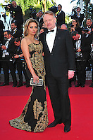 "Jared Harris with his wife Allegra Riggio attends the ""The Last Face"" Premiere during the 69th Annual International Cannes Film Festival in Cannes, France, 20th May 2016. Photo Credit: Timm/face to face/AdMedia"