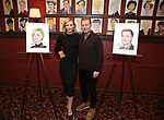 attend the Cate Blanchett and Richard Roxburgh Caricature Unveiling at Sardi's on March 14, 2017 in New York City.
