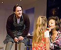 The Pain And The Itch by Bruce Norris, directed by Dominic Cooke . With Matthew MacFadyen as Clay,Shannon Kelly as Kayla,Andrea Riseborough as Kaylina.Opens at The Royal Court Theatre  on 21/6/07. CREDIT Geraint Lewis