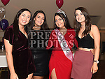 Lynn McKenna celebrating her 21st birthday in the Thatch with friends Kayla Flood, Emma O'Brien and Suzanne Hogan. Photo:Colin Bell/pressphotos.ie