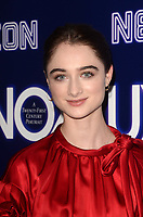 HOLLYWOOD, CA - DECEMBER 5: Raffey Cassidy at the LA Premiere Of Neon's Vox Lux at ArcLight Hollywood in Hollywood California on December 4, 2018. Credit: David Edwards/MediaPunch