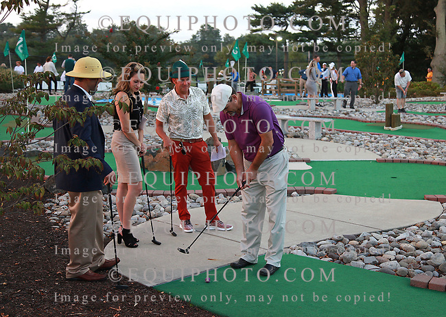 The Monmouth Park Charity Fund Mini-Golf Event at Bluegrass Mini Golf on the grounds of Monmouth Park in Oceanport, N.J.