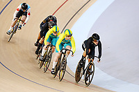 Olivia Podmore of New Zealand competes in the Women's Keirin Finals. Gold Coast 2018 Commonwealth Games, Track Cycling, Anna Meares Velodrome, Brisbane, Australia. 8 April 2018 © Copyright Photo: Anthony Au-Yeung / www.photosport.nz /SWpix.com