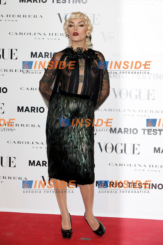Vinila Von Bismarck attends Vogue and Mario Testino photocall in Madrid. November 27, 2012. (ALTERPHOTOS/Caro Marin) .Madrid 27/11/2012.Lancio del numero di Dicembre della rivista Vogue..Foto Insidefoto.ITALY ONLY