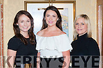 Joanne Cashman, Norita Cashman and Olive O'Sullivan-Darcy all smiles at the Knockanes Style event on Wednesday evening