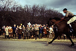 Kiplingcotes Derby Yorkshire 1970s. 1975.The world oldest horse race in the English sporting calendar. Started in 1519, and takes place on the third Thursday in March annually. Kiplingcotes is a small hamlet near Market Weighton.